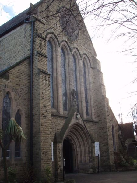 Picture of Blessed Sacrament, Aintree
