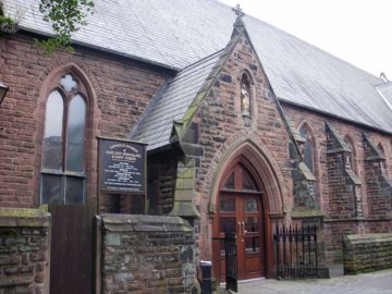 Picture of Our Lady and St Joseph, Prescot