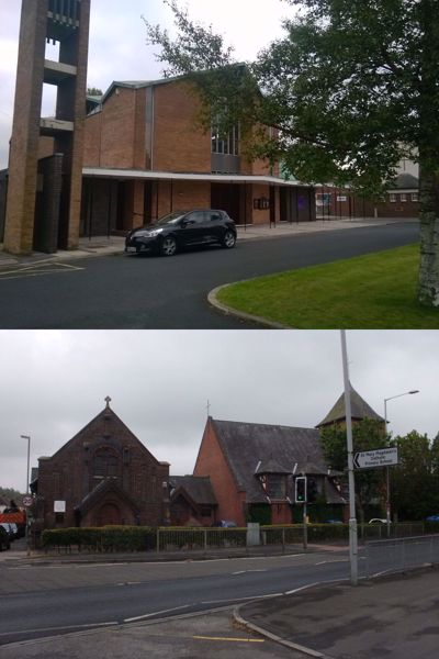 Picture of St Mary Magdalen  and St Teresa, Penwortham